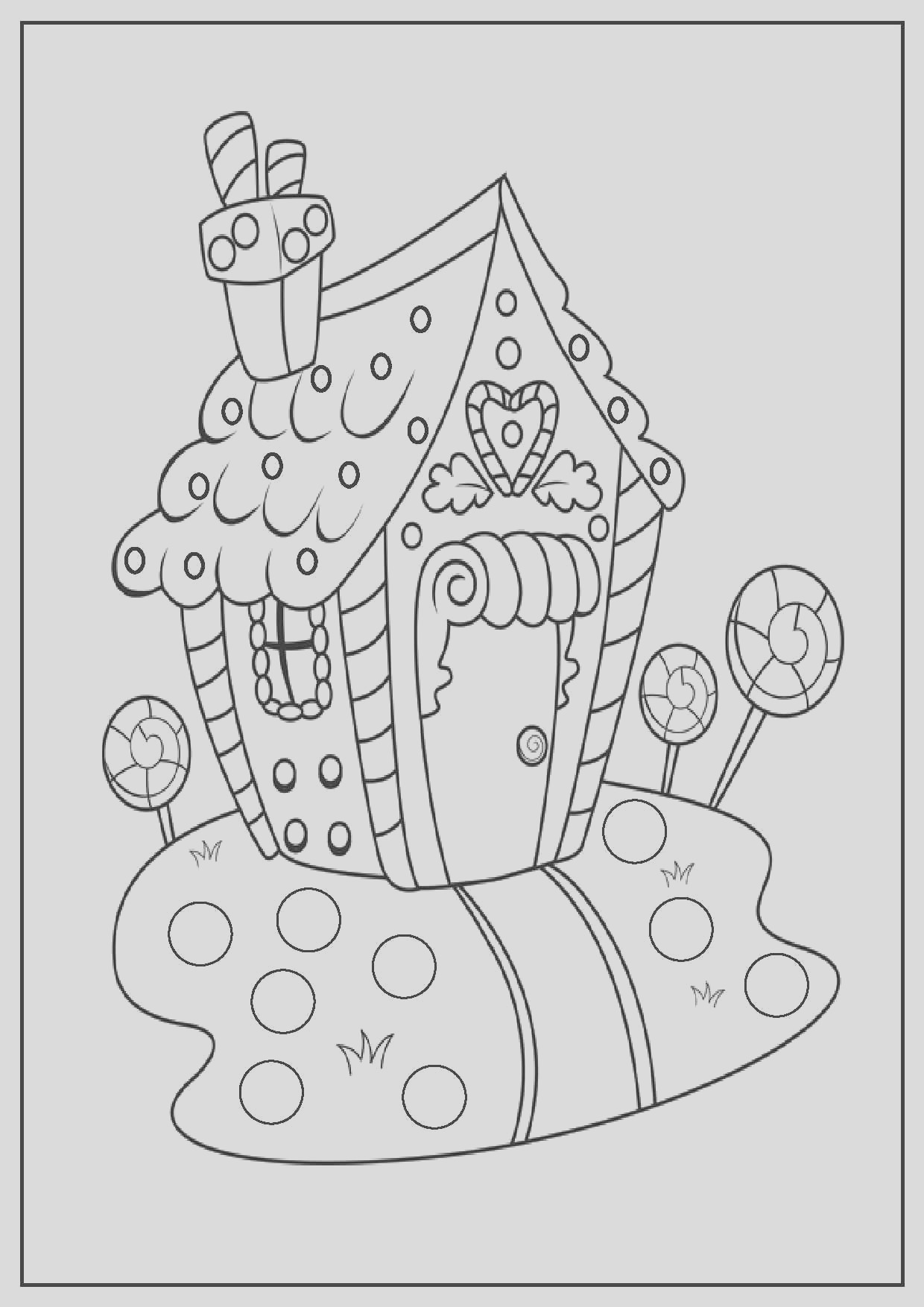 full page christmas coloring pages