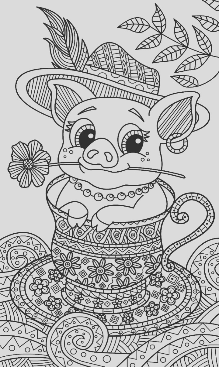 apron coloring pages