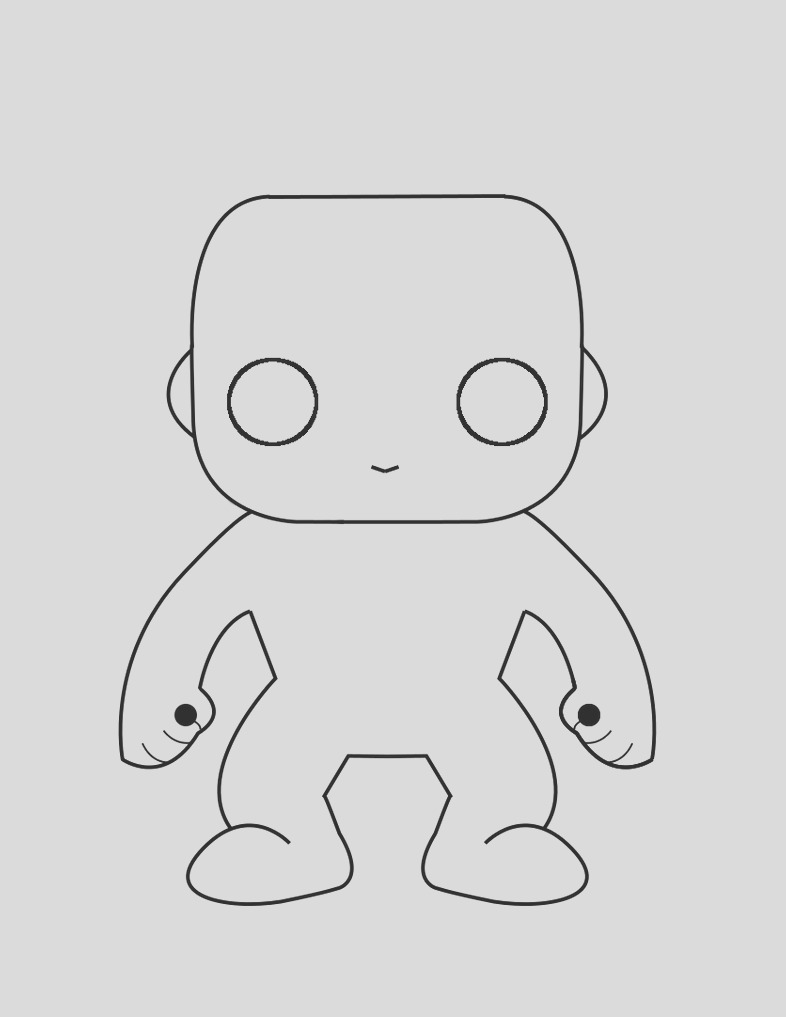 funko pop coloring pages sketch templates