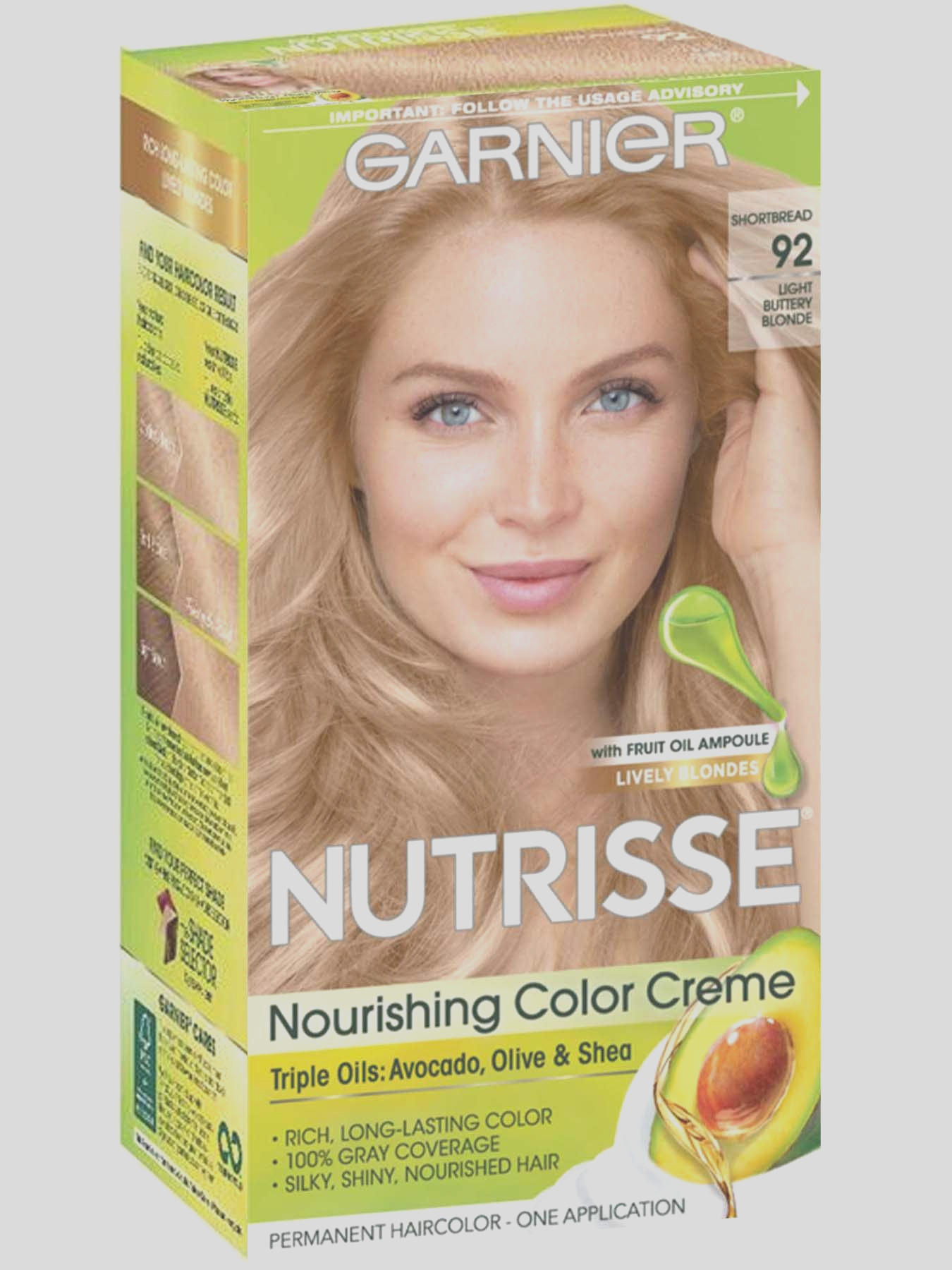 nourishing color creme 92 light buttery blonde
