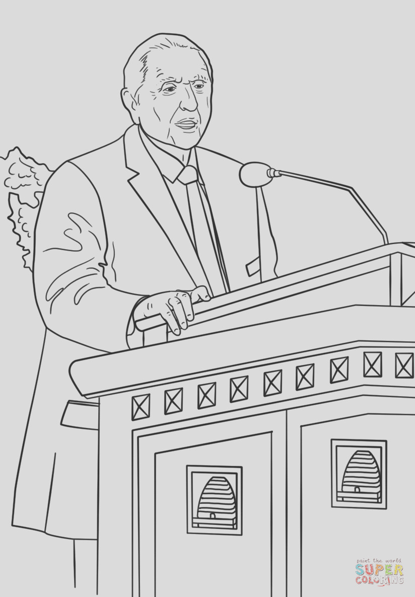thomas s monson speaks at the general conference