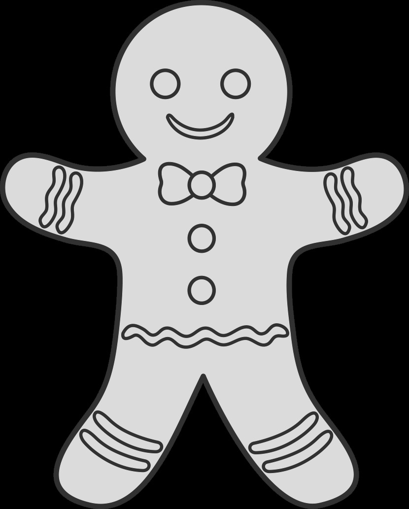 free clipart gingerbread man clipart