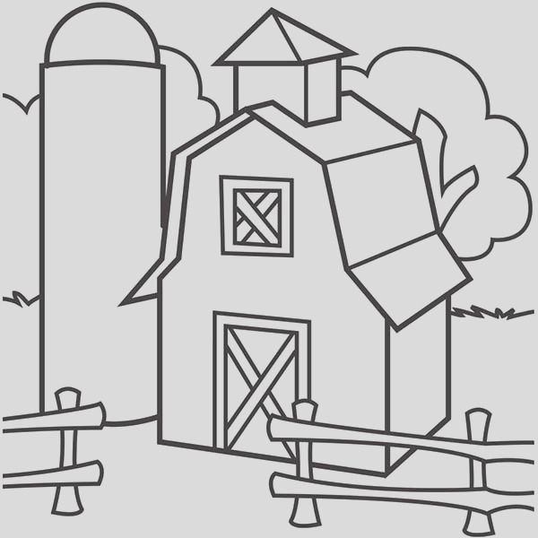 elevator coloring page