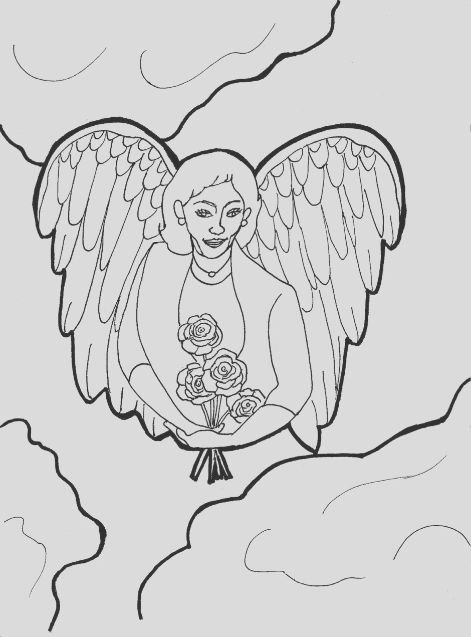 guardian angel coloring pages