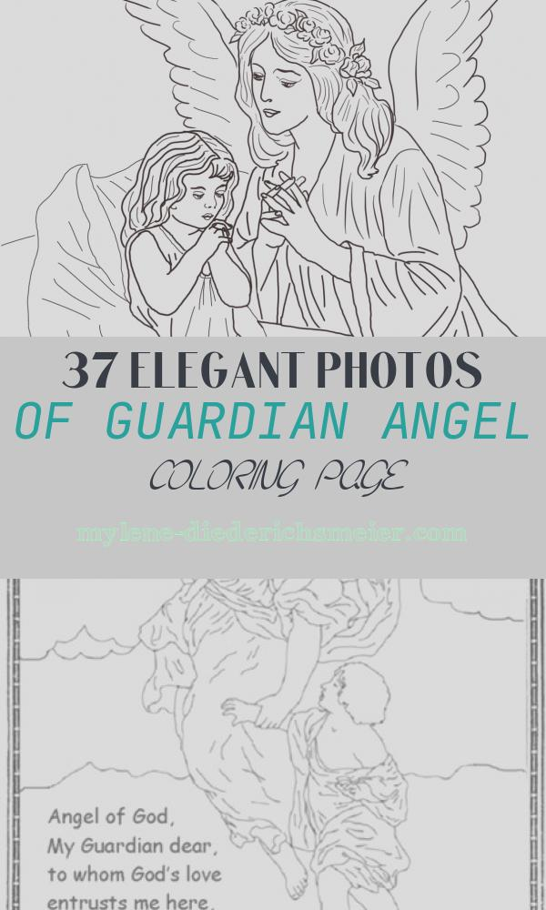 Guardian Angel Coloring Page Fresh Guardian Angel Prayers Coloring Page