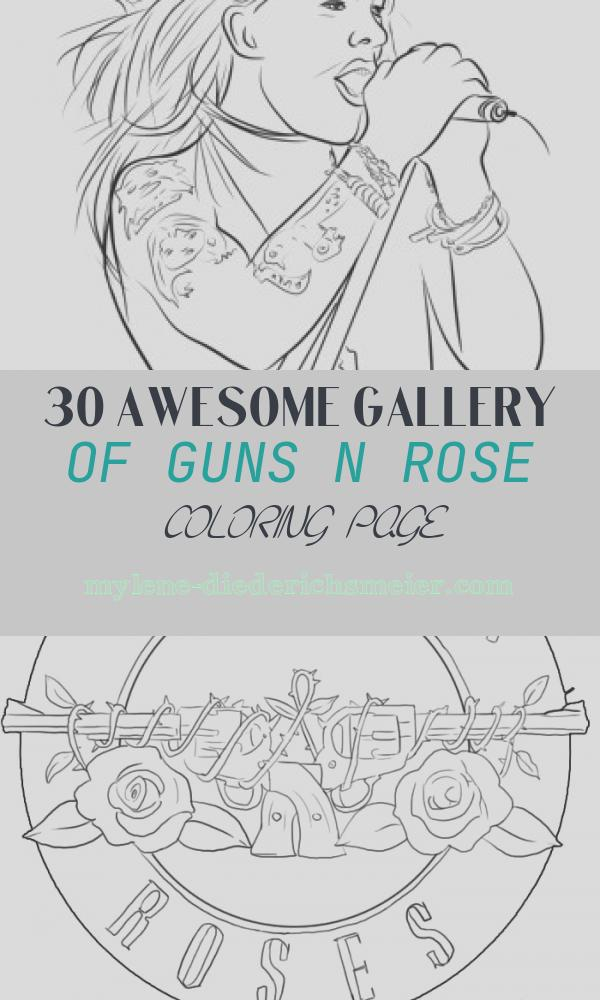 Guns N Rose Coloring Page Best Of Axl Rose From Guns N Roses Coloring Page