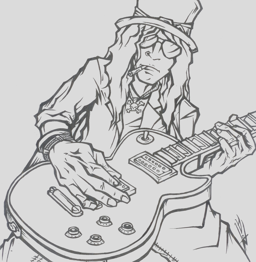 slash coloring pages