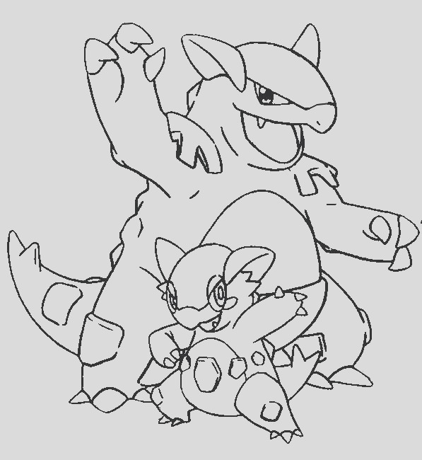 pokemon coloring pages gyarados