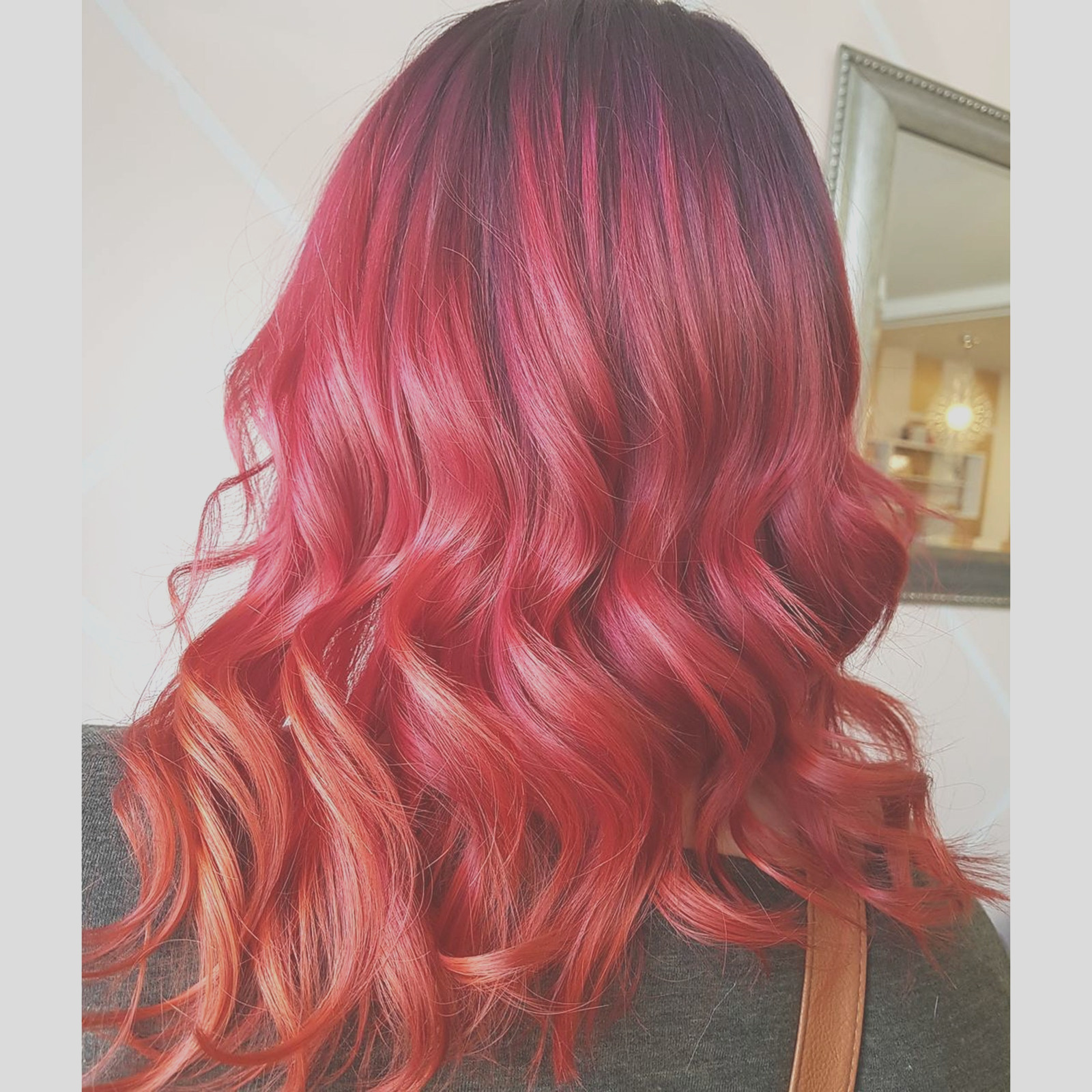 fall hair colors that look like foliage