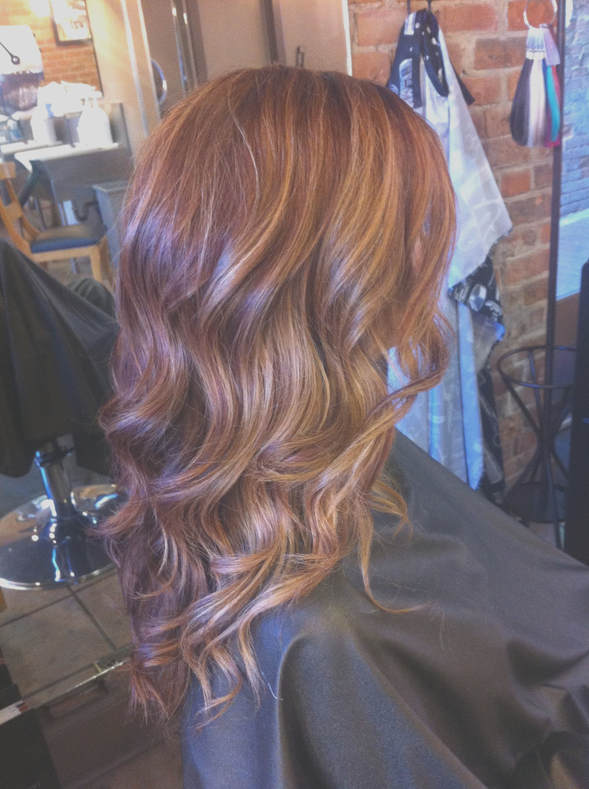 hair color trends ombre melting highlow