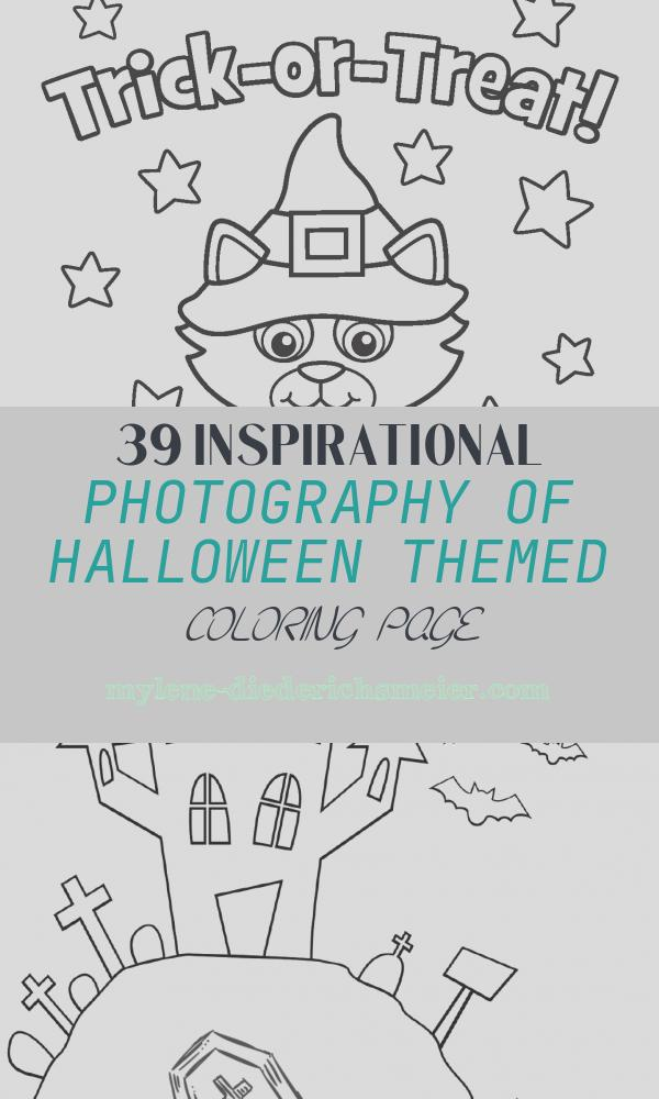 Halloween themed Coloring Page Beautiful Halloween themed Drawing at Getdrawings