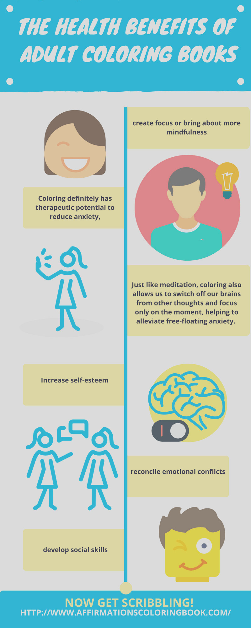 health benefits adult coloring books infographic