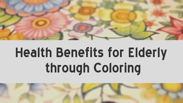 health benefits for elderly through coloring