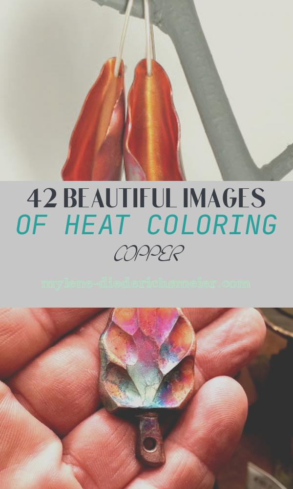 Heat Coloring Copper Best Of Etsy Metal Heat Coloring Copper