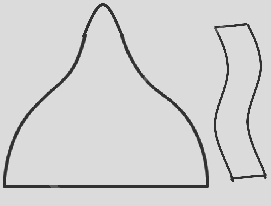 hershey kiss template