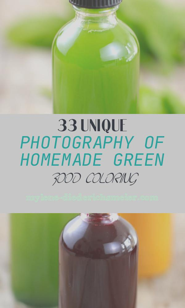 Homemade Green Food Coloring Awesome How to Make All Natural Homemade Food Coloring Bold