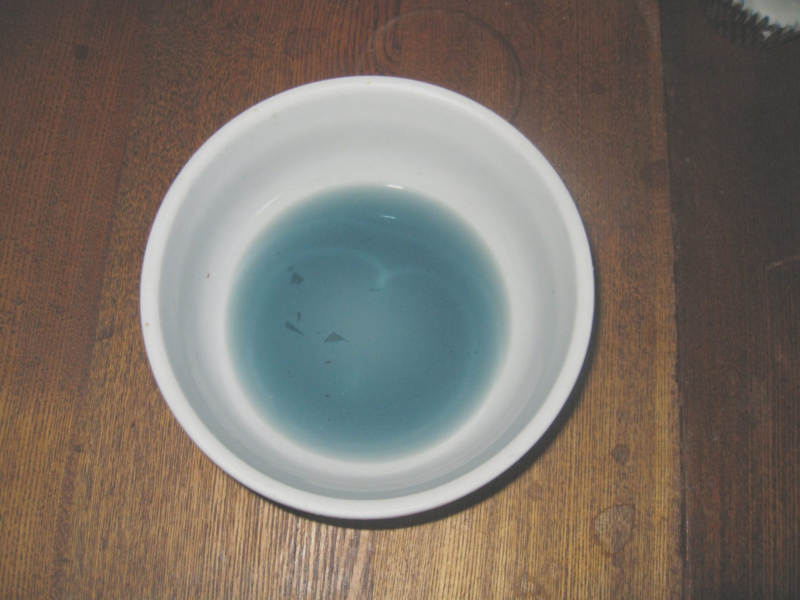 natural blue food coloring dye just in time for easter