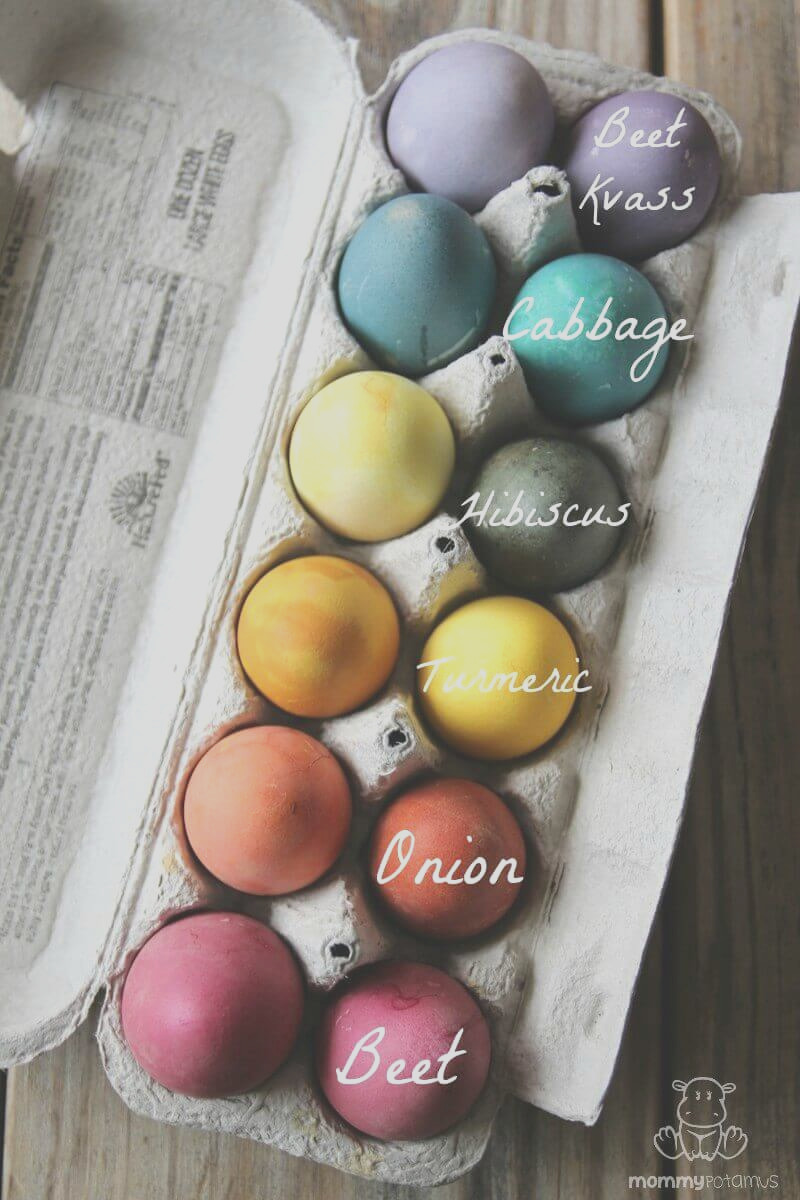 how to dye easter eggs naturally with everyday ingre nts