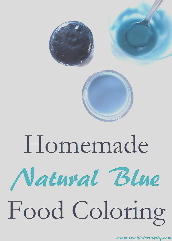 homemade natural blue food coloring with red cabbage