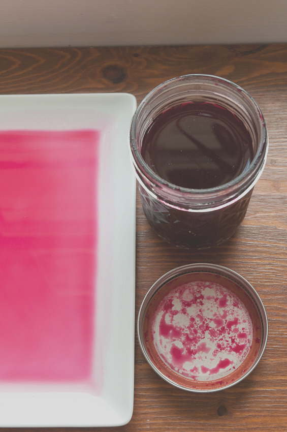 homemade red food coloring