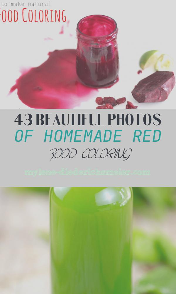 Homemade Red Food Coloring Luxury Homemade Red Food Coloring
