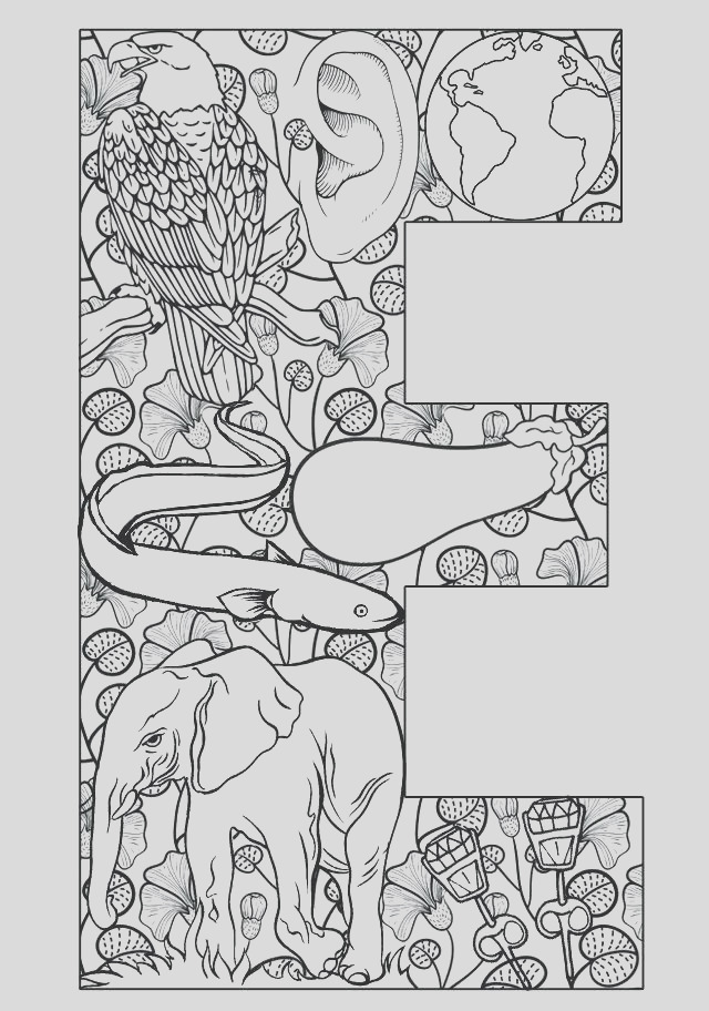 illuminated manuscript coloring pages