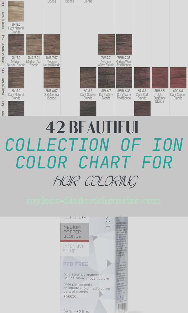Ion Color Chart for Hair Coloring Awesome Ion Demi Permanent Hair Color Chart–the Advantages