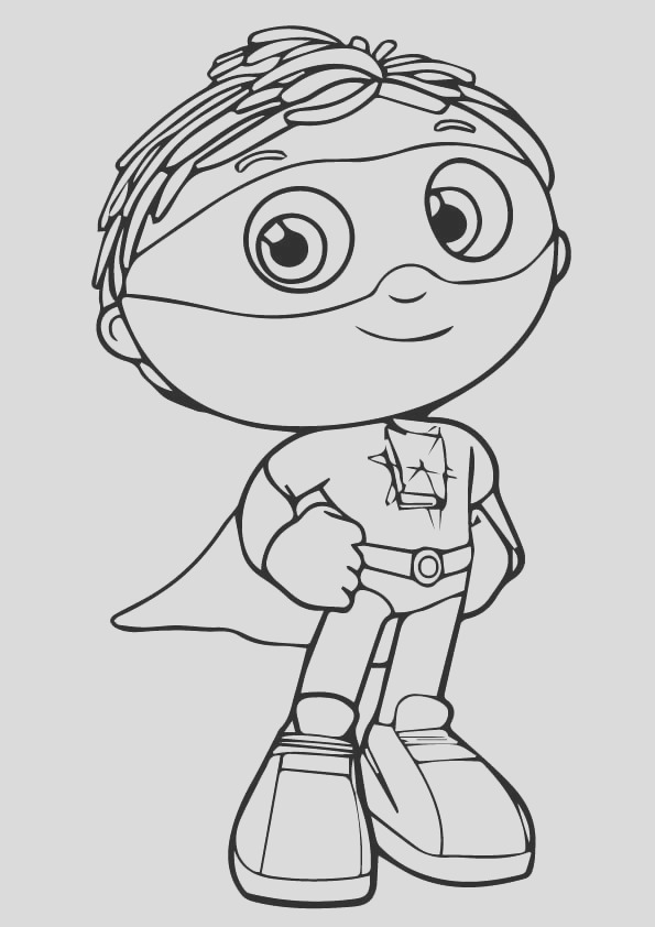 super why coloring pages 7