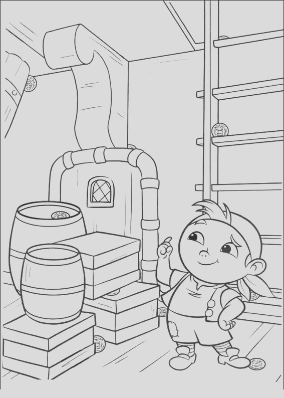 jake and never land pirates coloring pages