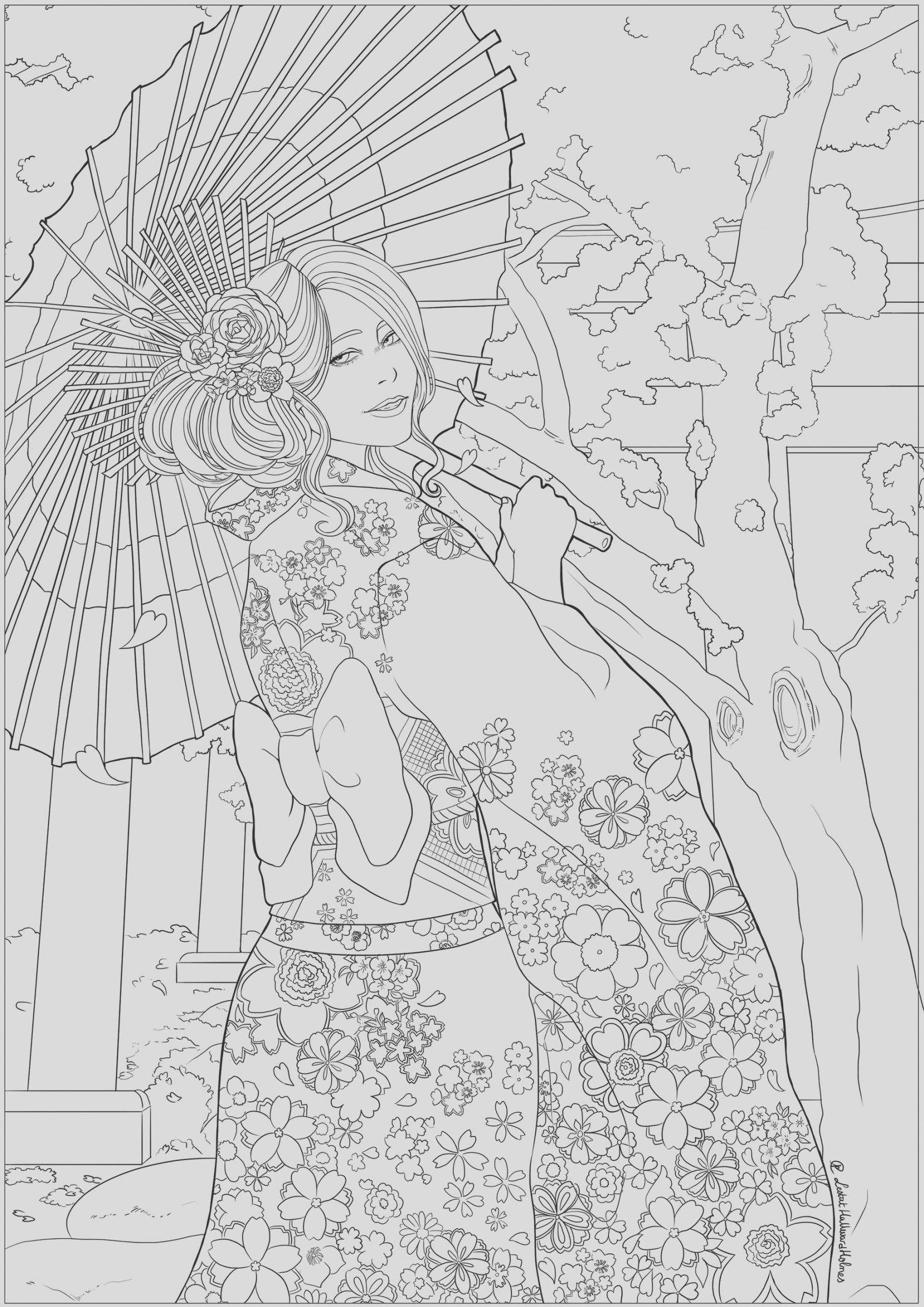 image=japan coloring elegant woman in japan 1