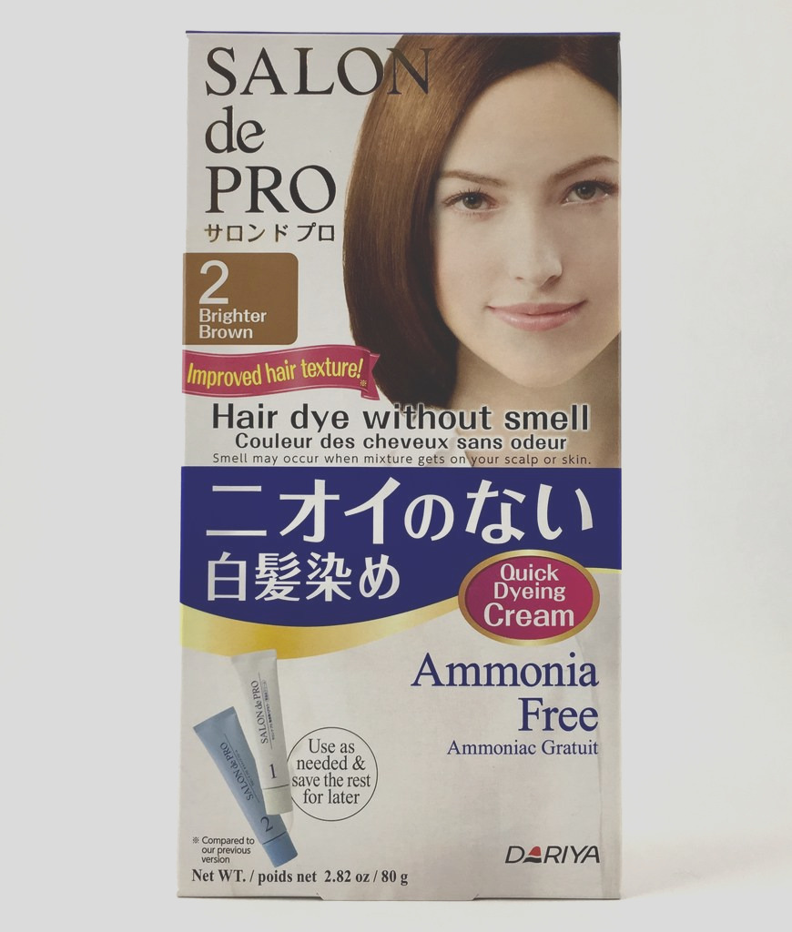 dariya japan salon de pro hair dye non smell 2 3 4 5 6 7 no smell