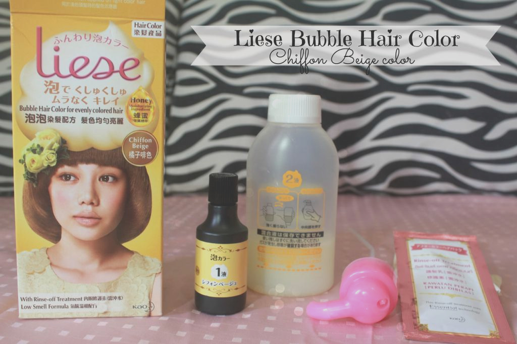 liese bubble hair color tutorial and
