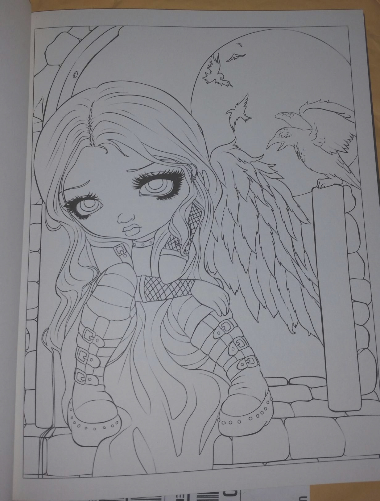 jasmine becket griffith coloring book pages