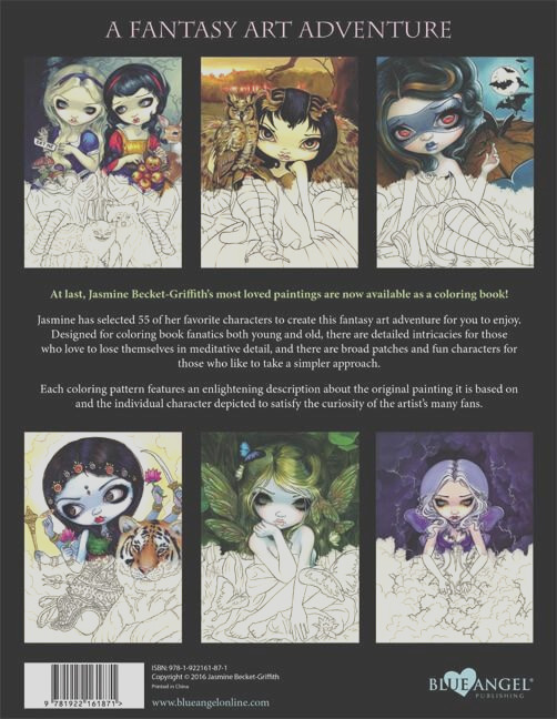 jasmine becket griffith coloring book 2