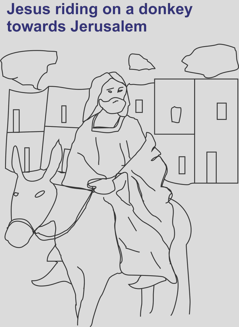 2884 Bible Coloring Worksheets for all