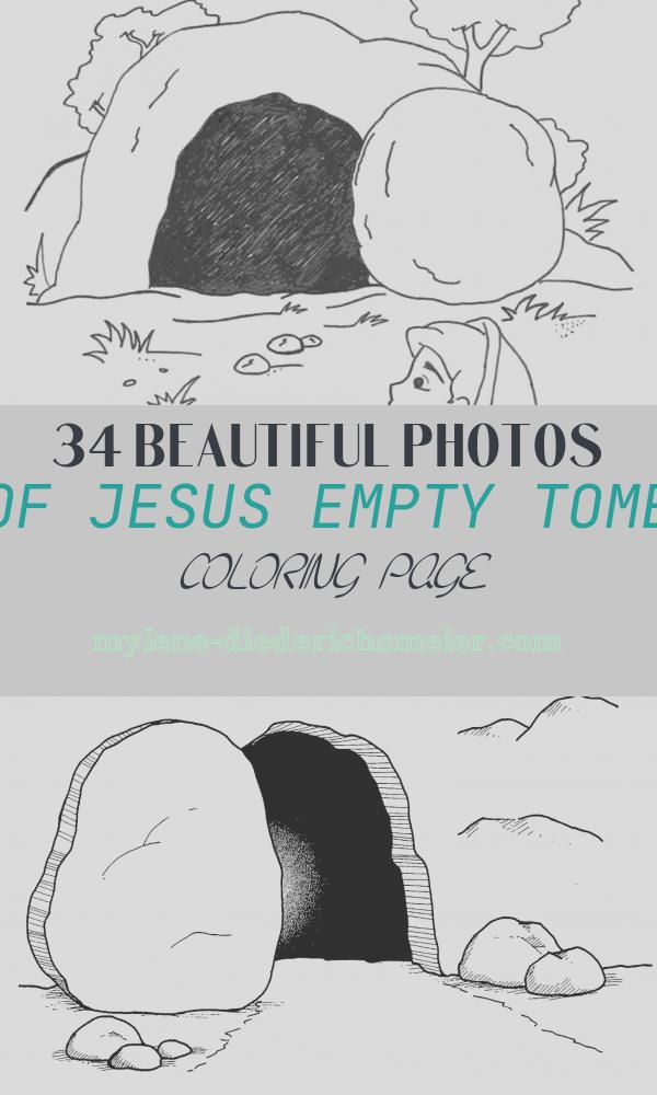Jesus Empty tomb Coloring Page New Empty tomb Coloring Page Free Kids Printable