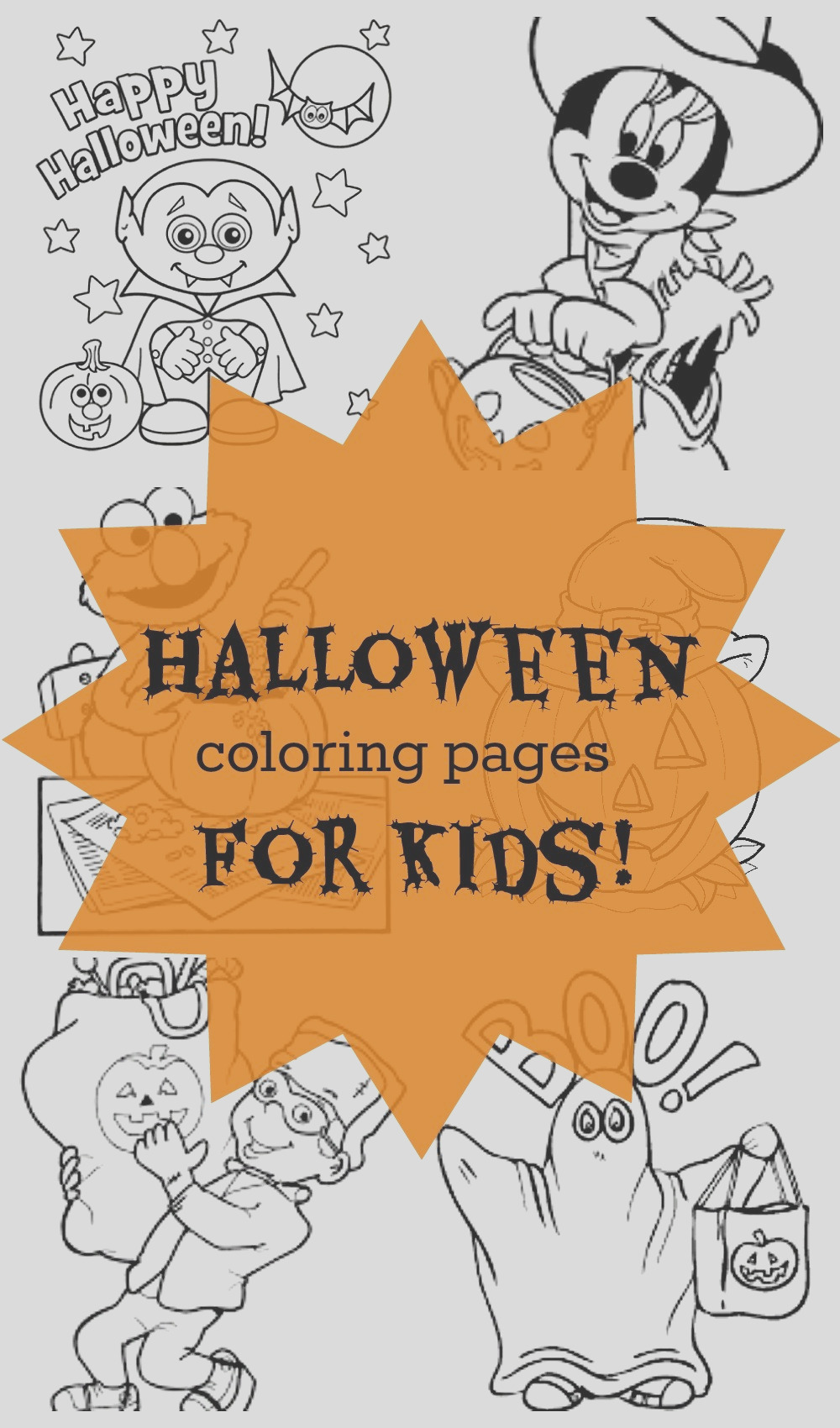 20 free halloween coloring pages for kids