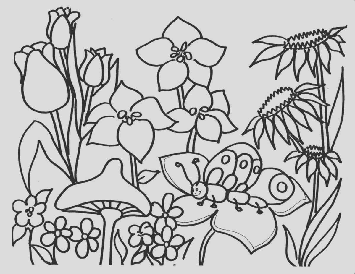 Kids Flower Coloring Page Luxury Free Printable Flower Coloring Pages for Kids Best