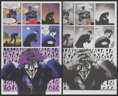 batman killing joke re colored