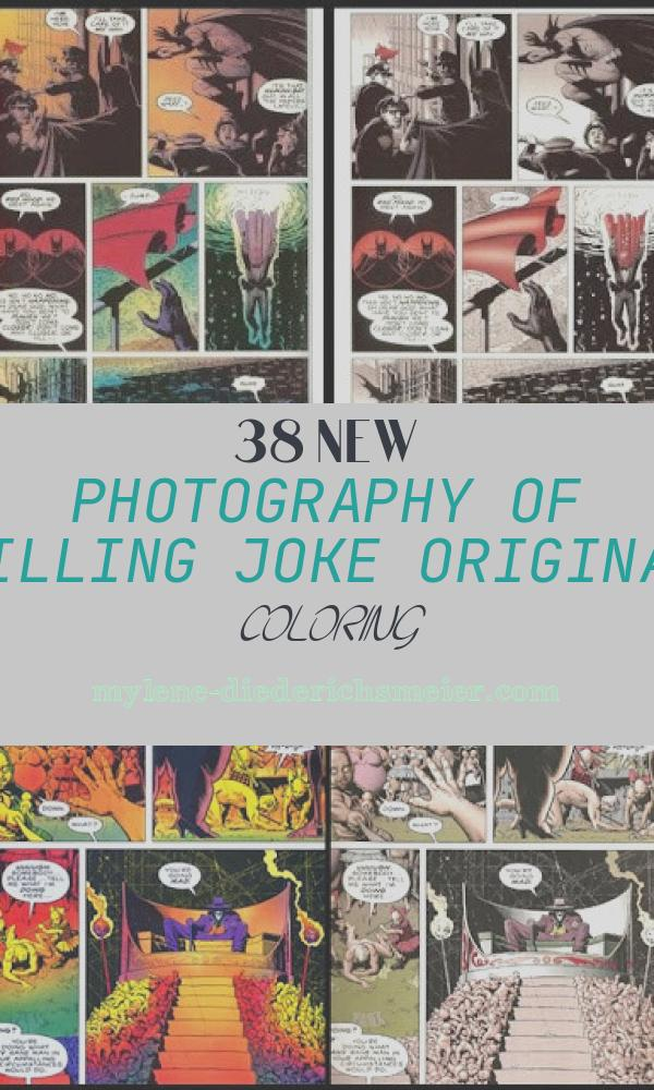 Killing Joke original Coloring Inspirational Jimsmash Batman Killing Joke Re Colored