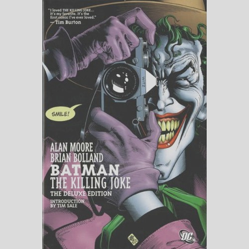 batman the killing joke deluxe hardcover graphic novel alan moore joker dc ics 7780 p
