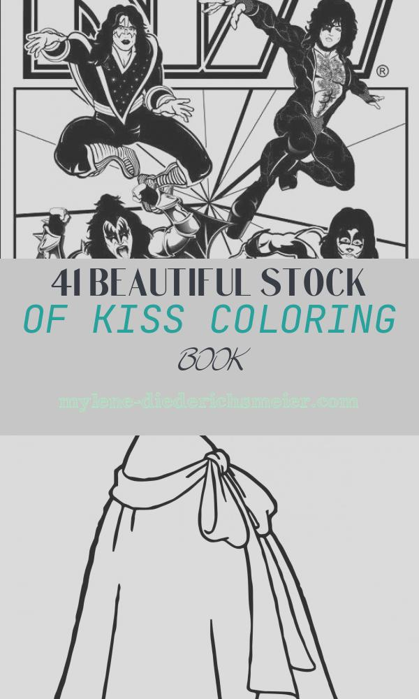 Kiss Coloring Book Awesome Kiss Coloring Book Page Kiss Stuff Pinterest