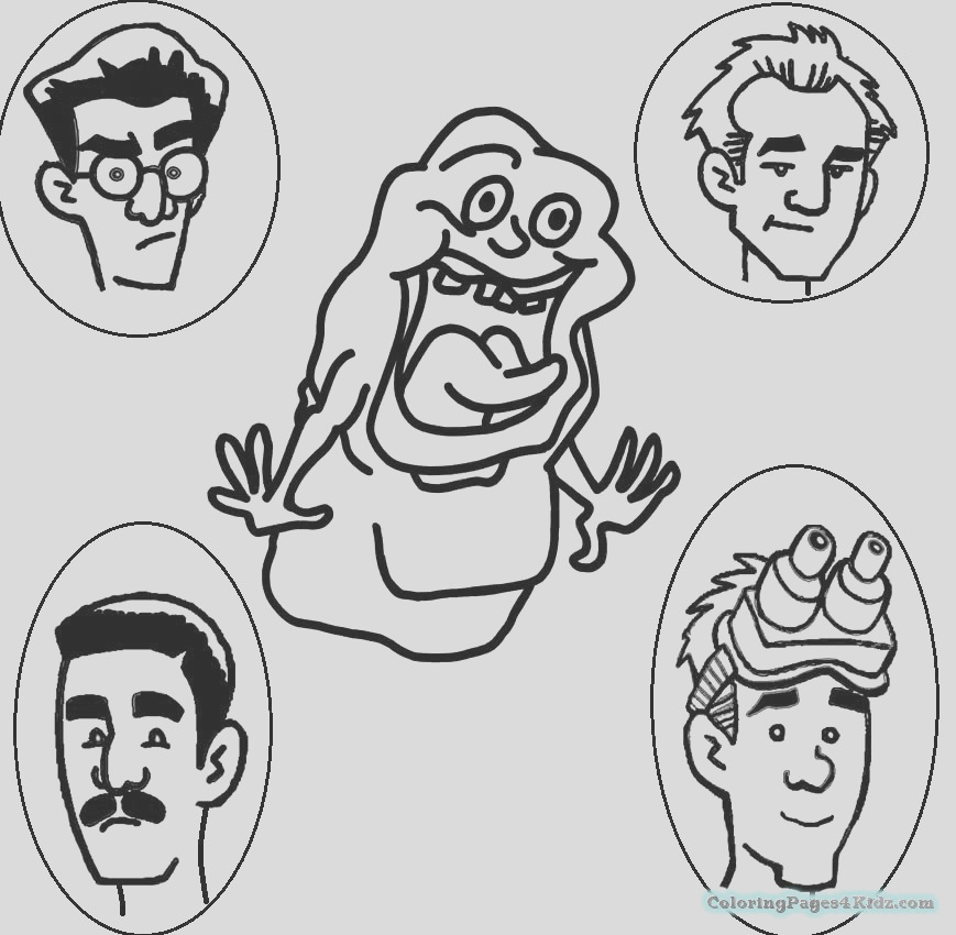 ghostbusters coloring pages 1022