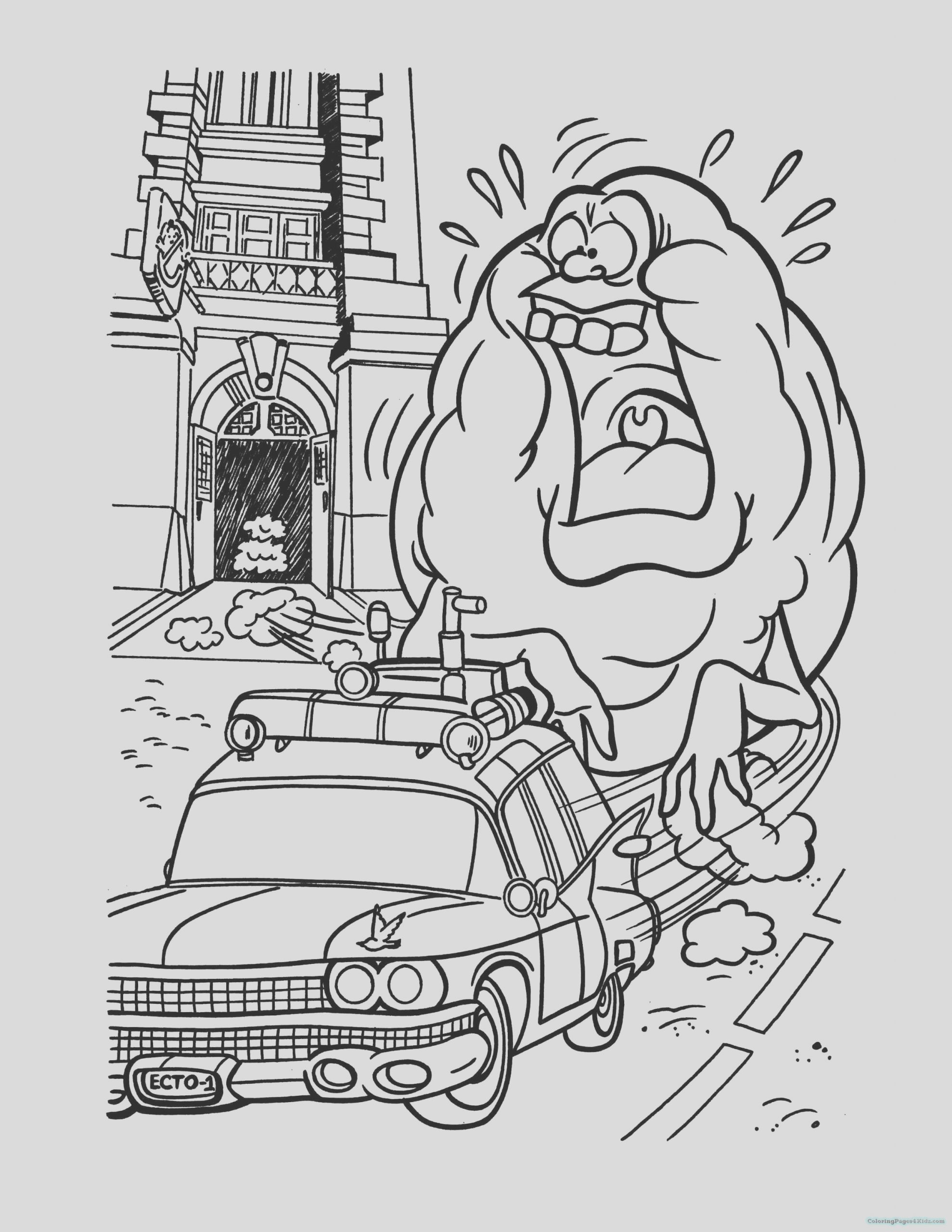 ghostbusters coloring pages 1036