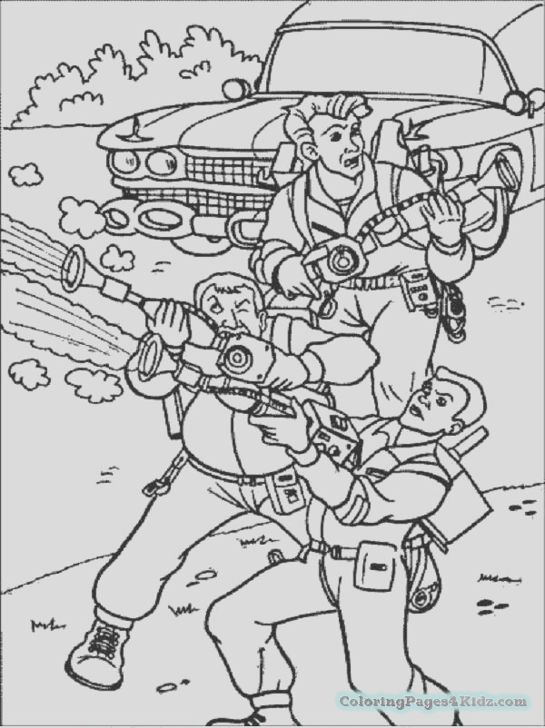 ghostbusters coloring pages 1015