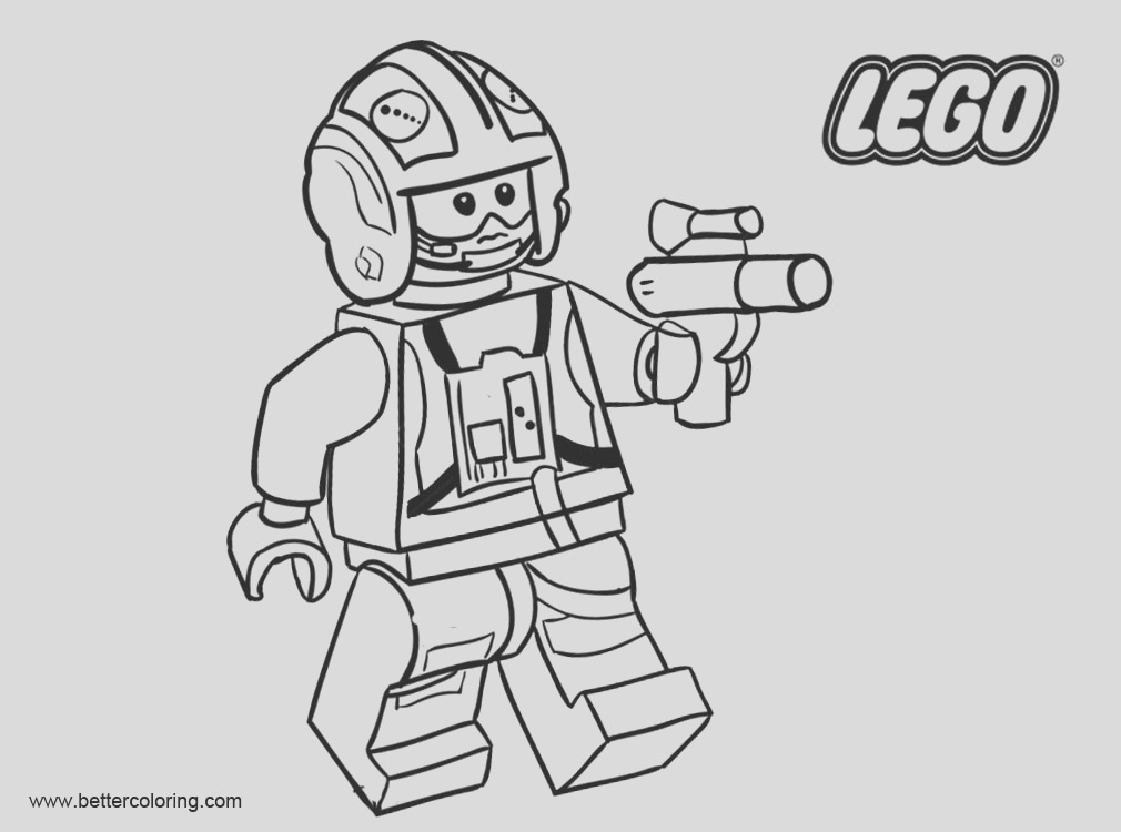 lego star wars coloring pages black and white