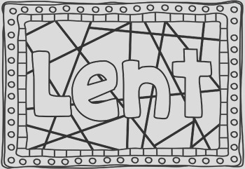 Lent Ash Wednesday Colouring Pages Bible Theme