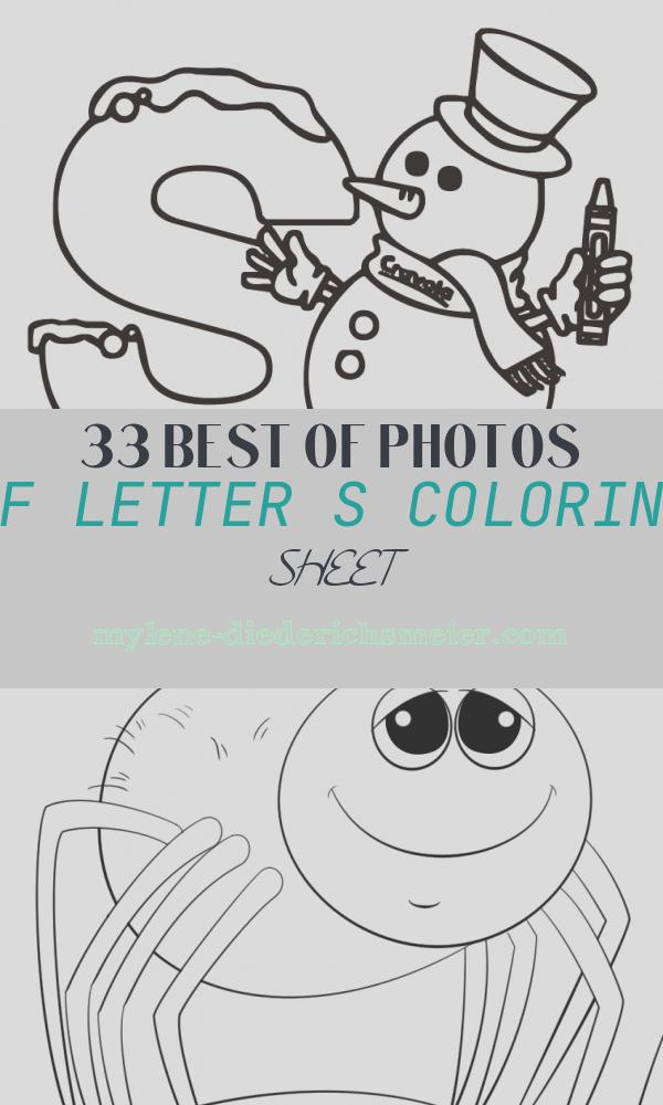 Letter S Coloring Sheet Fresh Letter S Coloring Pages to and Print for Free