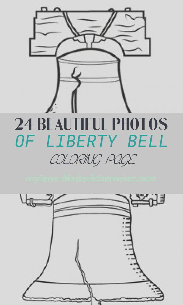 Liberty Bell Coloring Page Lovely Patriotic Symbols Free to Print Liberty Bell Coloring