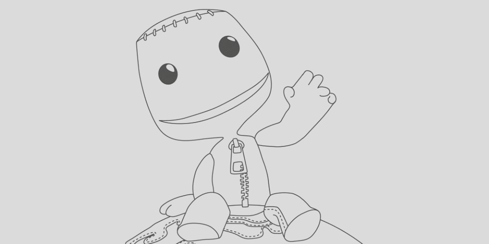 the playstation colouring book is out today
